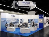 Gotic Messestand powtech 2014